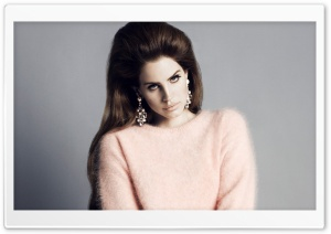 Lana Del Rey HD Wide Wallpaper for Widescreen