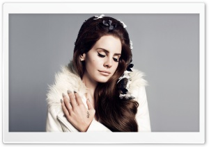 Lana Del Rey Portrait HD Wide Wallpaper for Widescreen