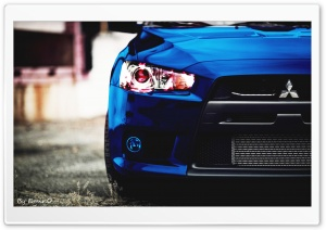Lancer EVO HD Wide Wallpaper for Widescreen