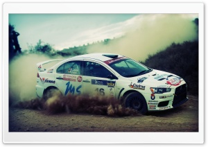 Lancer Evolution Rally HD Wide Wallpaper for Widescreen