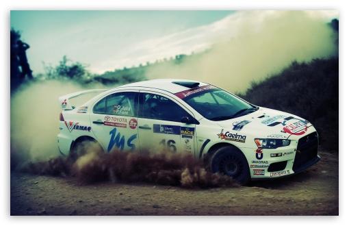 Lancer Evolution Rally 4k Hd Desktop Wallpaper For 4k