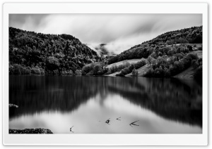 Landscape Black and White HD Wide Wallpaper for Widescreen