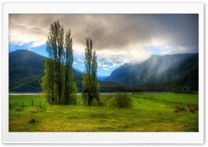 Landscape In New Zealand HD Wide Wallpaper for 4K UHD Widescreen desktop & smartphone