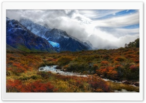 Landscape In Patagonia HD Wide Wallpaper for Widescreen