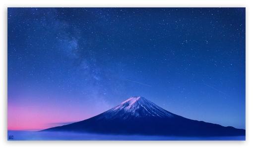 Landscape Mountain Milky Way by Yakub Nihat ❤ 4K UHD Wallpaper for 4K UHD 16:9 Ultra High Definition 2160p 1440p 1080p 900p 720p ; Mobile 16:9 - 2160p 1440p 1080p 900p 720p ;