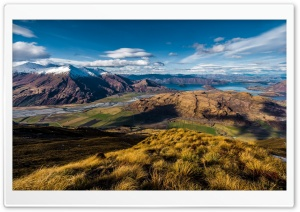 Landscape Of Wanaka New Zealand HD Wide Wallpaper for Widescreen