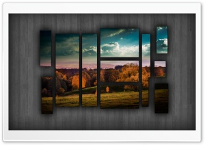 Landscape Puzzle Ultra HD Wallpaper for 4K UHD Widescreen desktop, tablet & smartphone