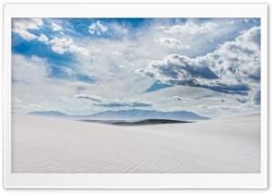 Landscape, White Sands, New...