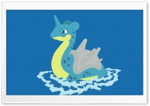 Lapras Pokemon HD Wide Wallpaper for Widescreen