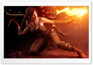 Lara Croft 2013 HD Wide Wallpaper for Widescreen