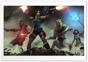 Lara Croft and the Temple of Osiris HD Wide Wallpaper for Widescreen