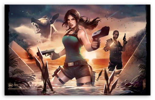 Lara Croft and the Temple of Osiris Concept Art ❤ 4K UHD Wallpaper for Wide 16:10 5:3 Widescreen WHXGA WQXGA WUXGA WXGA WGA ; 4K UHD 16:9 Ultra High Definition 2160p 1440p 1080p 900p 720p ; Mobile 5:3 16:9 - WGA 2160p 1440p 1080p 900p 720p ;