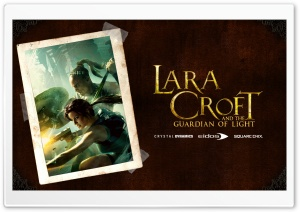 Lara Croft Book HD Wide Wallpaper for Widescreen