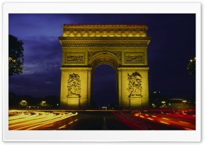 Larc De Triomphe HD Wide Wallpaper for Widescreen