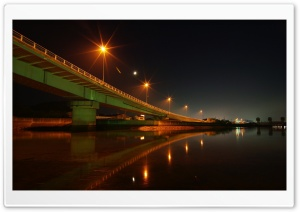 Large Bridge HD Wide Wallpaper for Widescreen