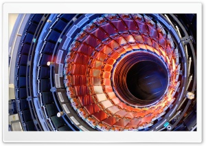 Large Hadron Collider Ultra HD Wallpaper for 4K UHD Widescreen desktop, tablet & smartphone