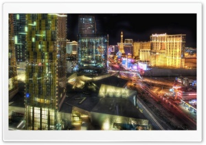 Las Vegas At Night Ultra HD Wallpaper for 4K UHD Widescreen desktop, tablet & smartphone