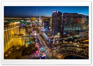 Las Vegas BLVD South HD Wide Wallpaper for 4K UHD Widescreen desktop & smartphone