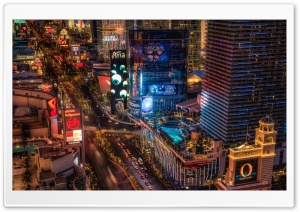 Las Vegas Boulevard HD Wide Wallpaper for 4K UHD Widescreen desktop & smartphone