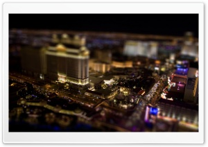 Las Vegas By Night HD Wide Wallpaper for Widescreen
