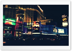 Las Vegas Love HD Wide Wallpaper for Widescreen