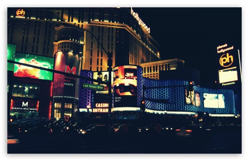 Download Las Vegas Love UltraHD Wallpaper