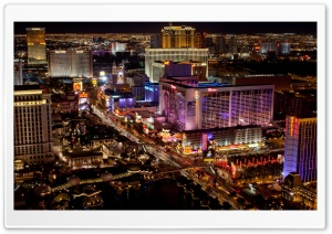 Las Vegas Strip Ultra HD Wallpaper for 4K UHD Widescreen desktop, tablet & smartphone