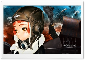 Last Exile HD Wide Wallpaper for 4K UHD Widescreen desktop & smartphone