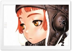 Last Exile Lavie Head HD Wide Wallpaper for Widescreen
