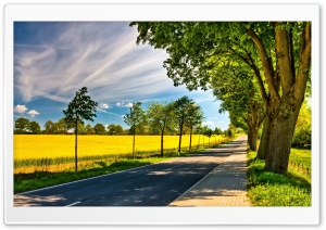 Late Summer Landscape HD Wide Wallpaper for Widescreen