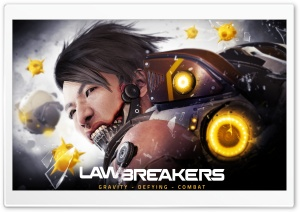 LawBreakers video game, Feng HD Wide Wallpaper for Widescreen