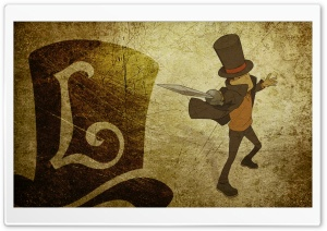 Layton Sword HD Wide Wallpaper for Widescreen