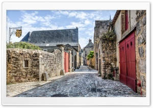Le Mans Medieval Streets France HD Wide Wallpaper for Widescreen