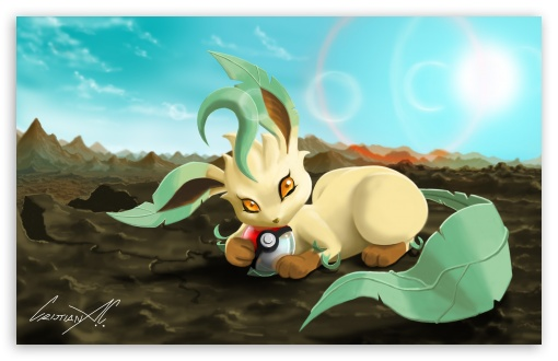 Leafeon (Pokemon) HD wallpaper for Wide 16:10 5:3 Widescreen WHXGA WQXGA WUXGA WXGA WGA ; HD 16:9 High Definition WQHD QWXGA 1080p 900p 720p QHD nHD ; UHD 16:9 WQHD QWXGA 1080p 900p 720p QHD nHD ; Standard 3:2 Fullscreen DVGA HVGA HQVGA devices ( Apple PowerBook G4 iPhone 4 3G 3GS iPod Touch ) ; Mobile 5:3 3:2 16:9 - WGA DVGA HVGA HQVGA devices ( Apple PowerBook G4 iPhone 4 3G 3GS iPod Touch ) WQHD QWXGA 1080p 900p 720p QHD nHD ;