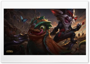 League of Legends - Kled HD Wide Wallpaper for Widescreen