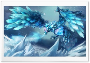 League Of Legends Anivia the Cryophoenix HD Wide Wallpaper for 4K UHD Widescreen desktop & smartphone