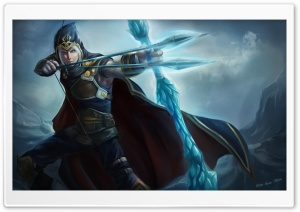 League Of Legends Archer HD Wide Wallpaper for Widescreen