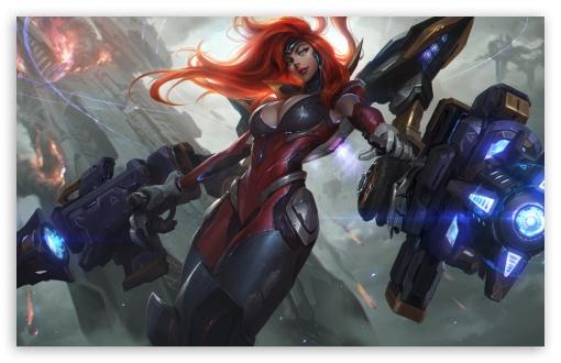 league of legends gun goddess miss fortune 4k hd desktop