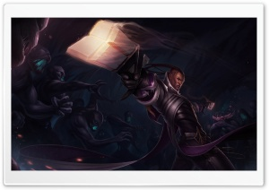 League of Legends LOL Lucian HD Wide Wallpaper for Widescreen