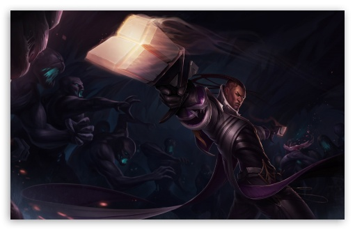 League of Legends LOL Lucian 4K HD Desktop Wallpaper for ...