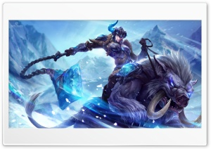 League Of Legends Sejuani HD Wide Wallpaper for Widescreen