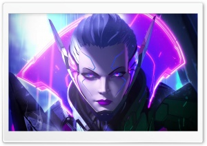 League Of Legends Vayne HD Wide Wallpaper for Widescreen