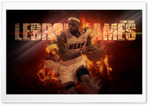 LeBron James HD Wide Wallpaper for Widescreen