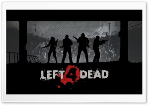 Left 4 Dead HD Wide Wallpaper for Widescreen