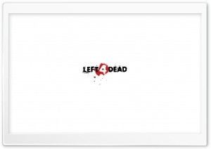 Left 4 Dead Logo HD Wide Wallpaper for 4K UHD Widescreen desktop & smartphone