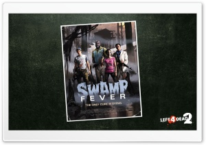 Left 4 Dead Swamp Fever Ultra HD Wallpaper for 4K UHD Widescreen desktop, tablet & smartphone