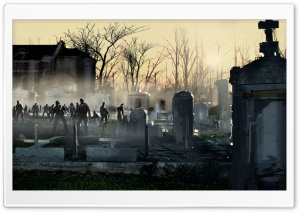 Left 4 Dead Zombies Art HD Wide Wallpaper for Widescreen