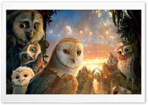 Legend Of The Guardians The Owls Of Ga Hoole HD Wide Wallpaper for Widescreen