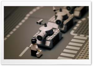 Lego Tanks HD Wide Wallpaper for Widescreen