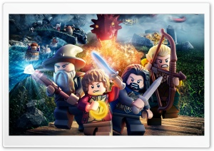 Lego The Hobbit HD Wide Wallpaper for Widescreen